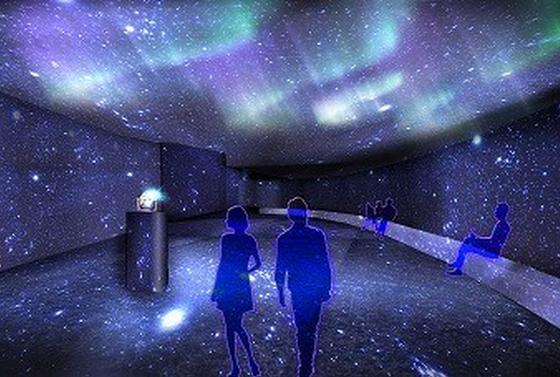 プラネタリウム「星空のイルミネーション by MEGASTAR」