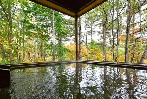 大浴場の露天風呂♨️