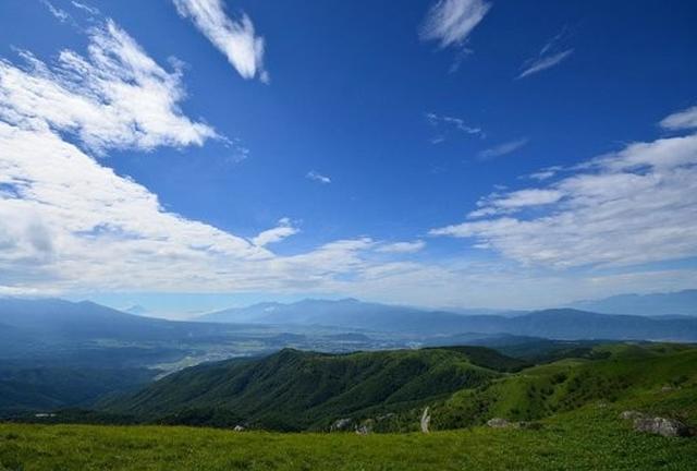 最高の避暑地へ!車山で360°パノラマビューを楽しもう♪