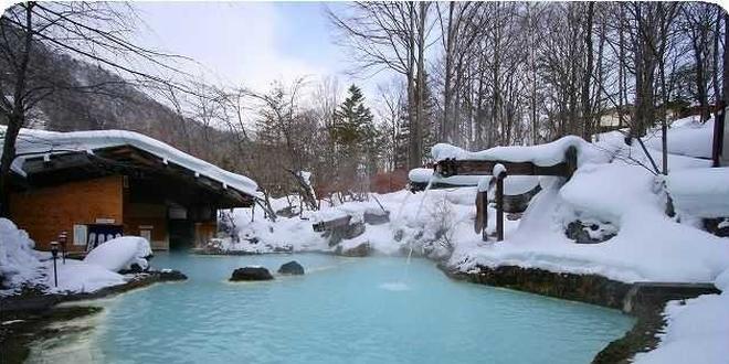 絶景!!冬の長野でゆったり温泉旅~白骨温泉~