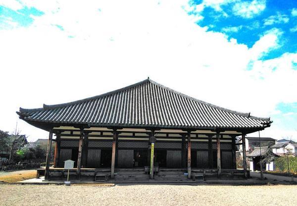 国宝・極楽堂(極楽坊本堂)