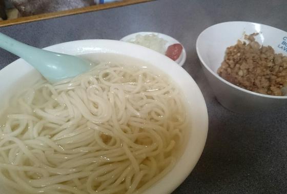 餃子のうどん!?