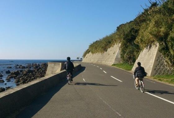 伊王島内サイクリング