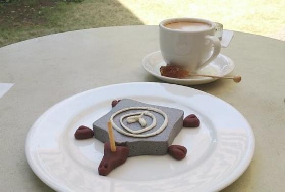 アートを食べる「イメージケーキ」