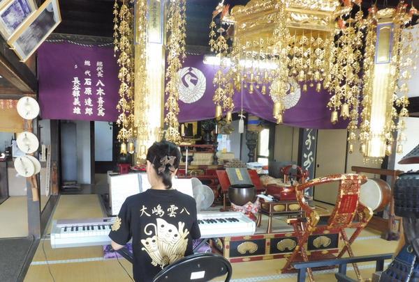 大嶋雲八供養祭