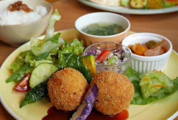 野菜たっぷりのランチセット