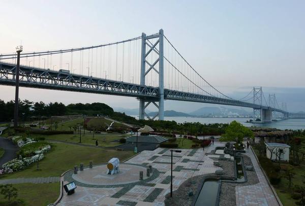 今回は瀬戸大橋から四国入り