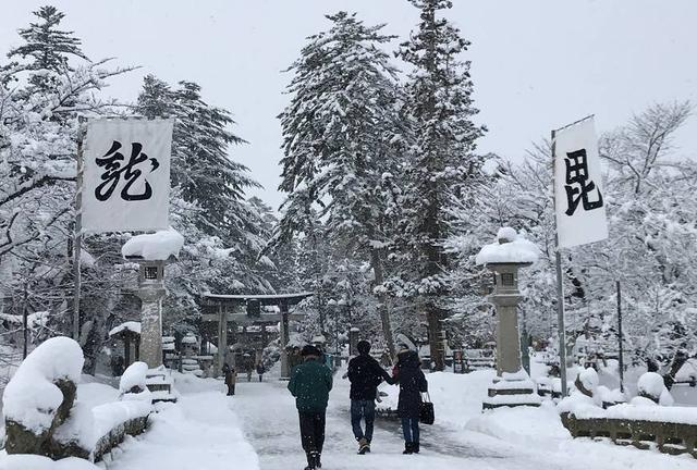 かなり上杉る街…米沢は今日も雪だった!