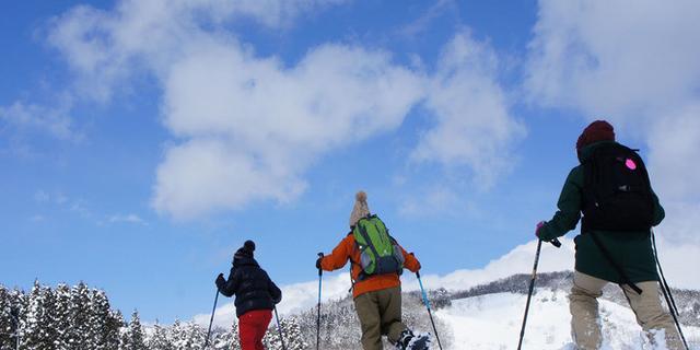 【阿蘇・体験】冬の阿蘇を楽しむならコレ!スノートレッキングも有ります!(冬)