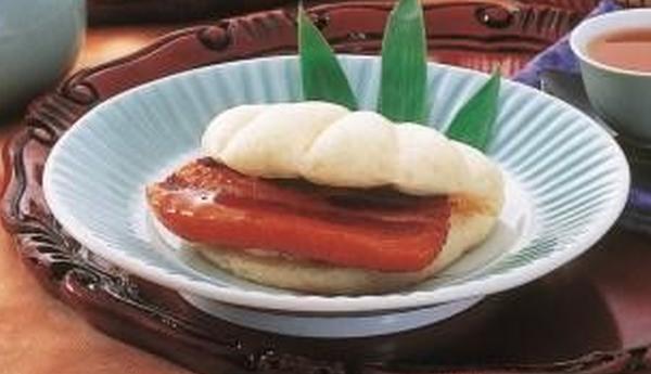 蘇州林で「角煮まんじゅう」
