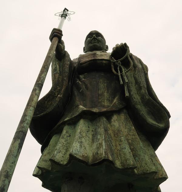 弘法大師銅像