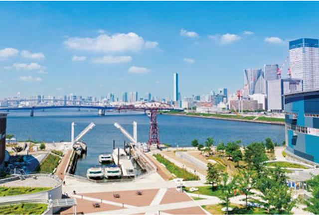 ヨーキー・レオと、豊洲からお台場・有明のぐるっと東京ベイエリアを楽しもう