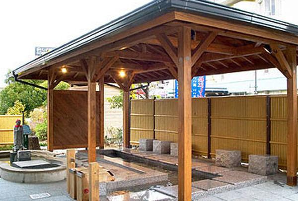 松江しんじ湖温泉駅の足湯