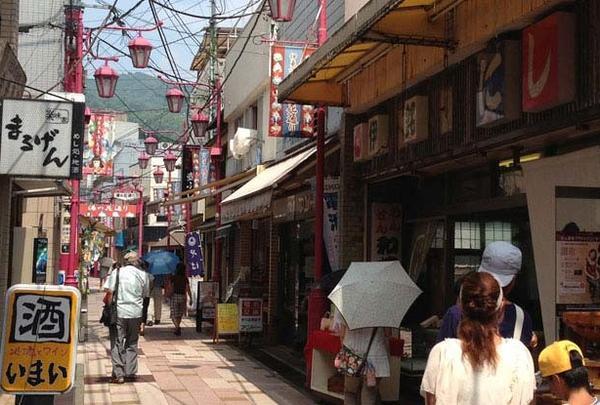 伊東湯の花通り商店街